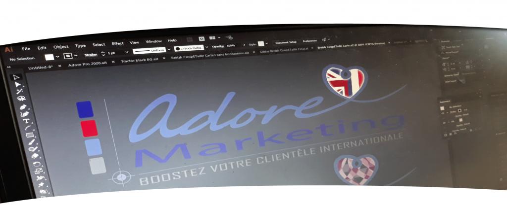 Adore Banner